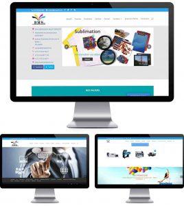 Projet BMS agence de communication le coq projet bmsprint bennouna multi-services