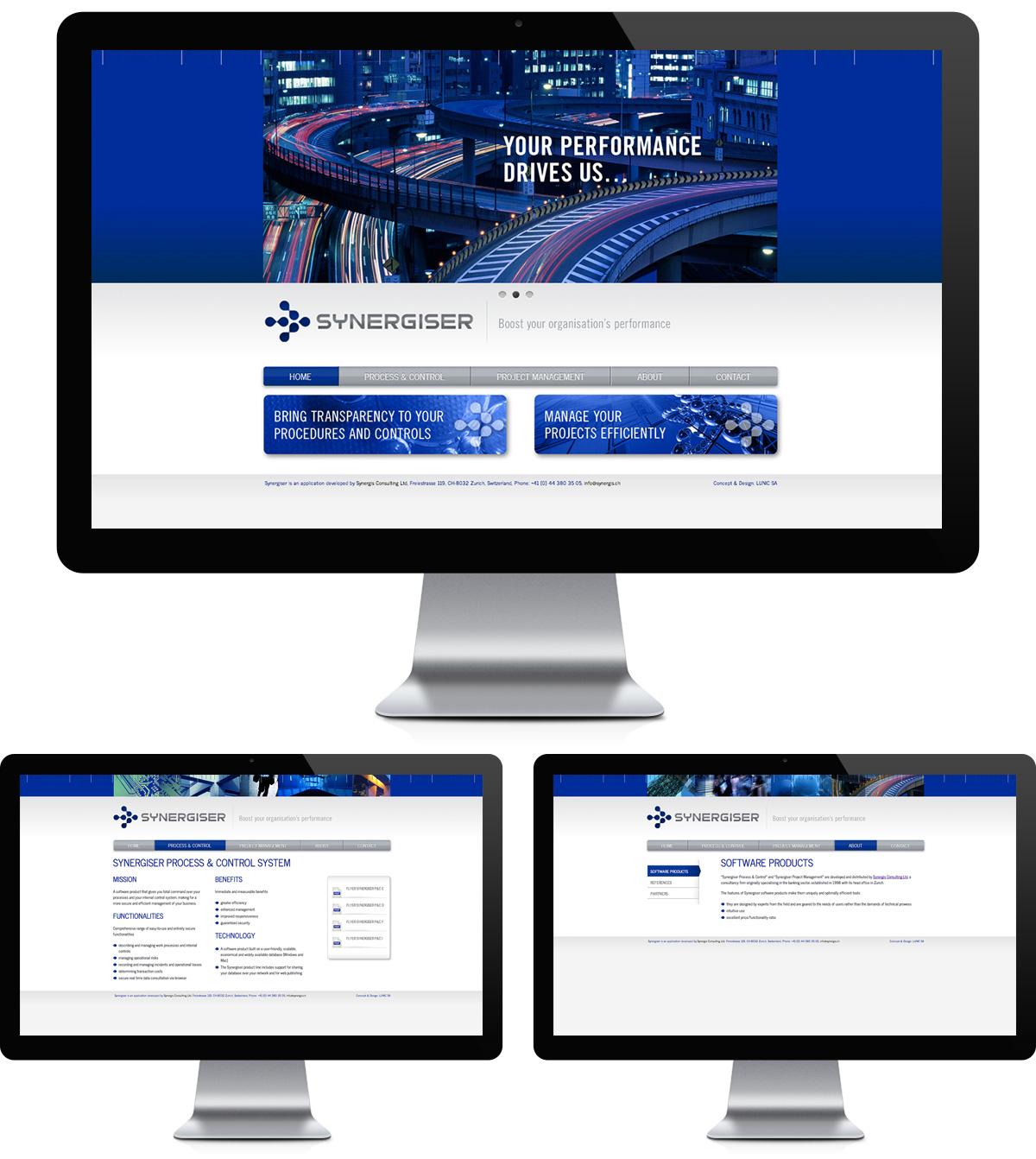 synergiser statistiques de projets agence le coq communication, agence web, agence de communication visuelle, pub, événementielle