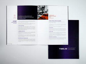 Timelab support de communication impression web nos projets agence le coq communication, agence web, agence de communication visuelle, pub, événementielle